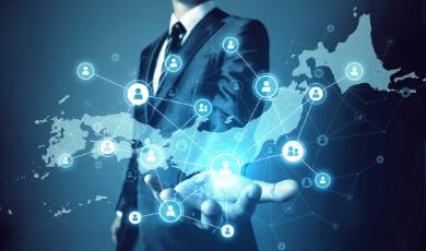 全国拠点と強力なネットワーク